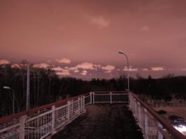 Вечер в пурпурных тонах