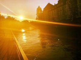 Закат в Страсбурге