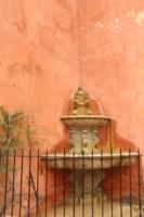 фонтан отдыхает