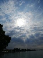 озеро и облака