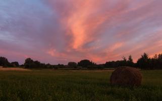 Летний вечер в деревне
