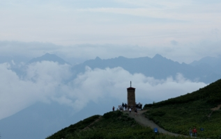 На высоте 2250 метров