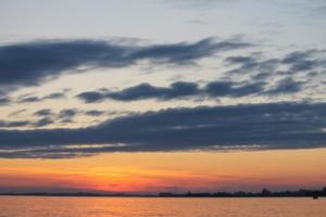 Облака на закате