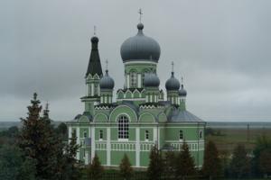 Достоево. Церковь Троицы Живоначальной.