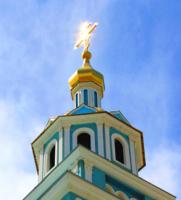 Колокольня Свято-Успенского храма в Ташкенте