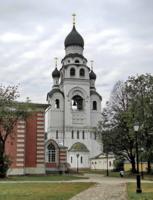 Храм-колокольня во имя Воскресения Христова.