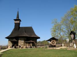 Старинная молдавская церковь