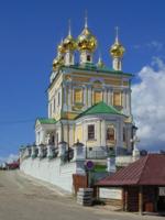 Церковь Воскресения Христова в Плёсе.