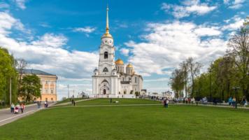 Город Владимир. Успенский собор.