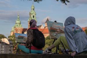 краски Кракова