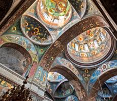 В Новоафонском монастыре.Абхазия