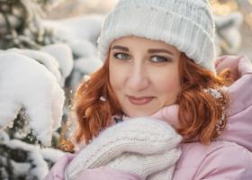 Рыжая снегурочка