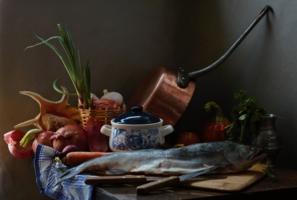 Рыба, звезда моя)) И есть, и готовить люблю!