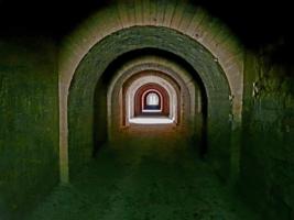 Казематы крепости Керчь