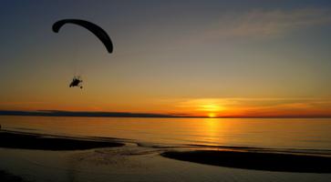 Полёты на закате