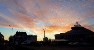 Краски городского заката