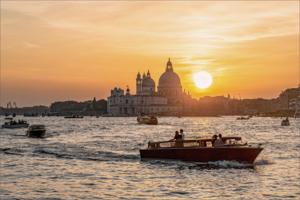 Венеция. Закат.