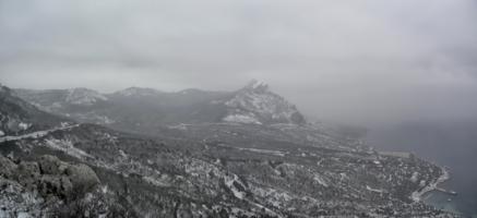ЮБК зимой