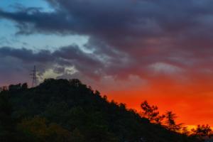 Гора Успенка. Рассвет