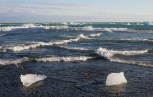 Волны попендикулярно