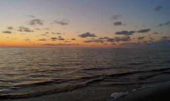 Тихий вечер у моря