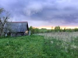 На краю деревни...