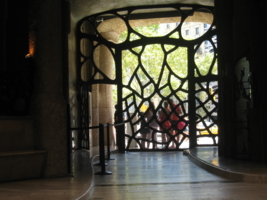 Дверь от Гауди