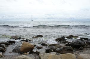Морской простор