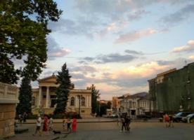 Летний закат в Одессе