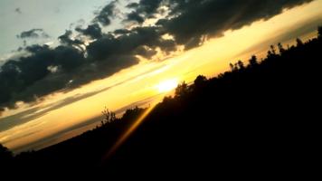 Краски заката...