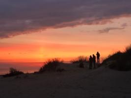 Закат в Джемете