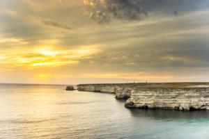 Закат над Тарханкутом