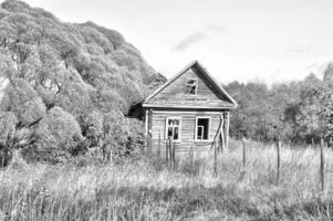 Старый, серый бабушкин дом...