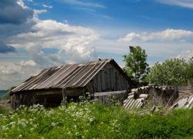 На окраине деревни