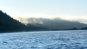 Туман поднимается вверх - к дождю
