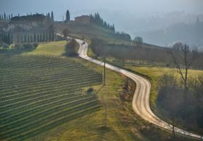 Вверх по Тоскане.
