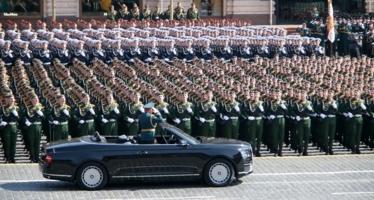 ...Здравия желаем товарищ Министр Обороны...