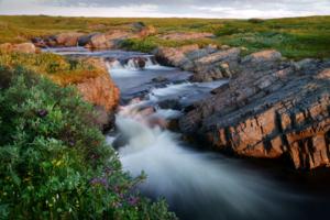водопад на р. Скорбиевке