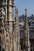 Готика собора в окружении  Милана.