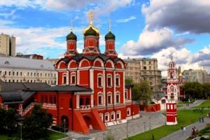 Красно-белый собор.