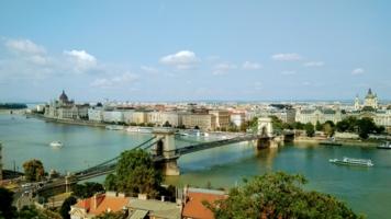 Берега Будапешта