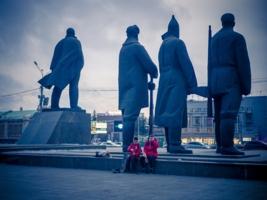 Площадь Ленина в Новосибирске