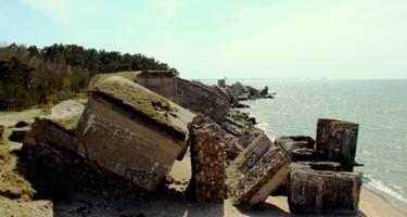 Развалины старинного форта.