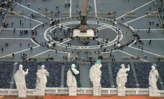 на площади Святого Петра