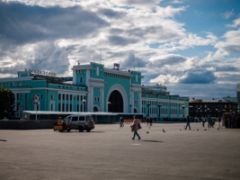 """ЖД вокзал """"Новосибирс Главный"""""""