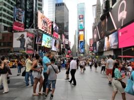 Тайм сквер Визитная карточка Нью Йорка