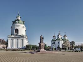 Площадь святителя Иоасафа Белгородского.
