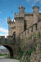 Испания. Замок тамплиеров в г.Понферраде