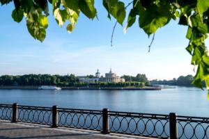 Где сливаются Волга и Тверца