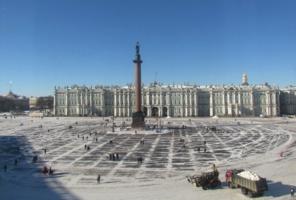 Ранняя весна в Петербурге